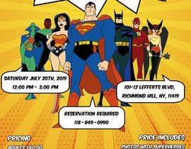 #4 for I need someone to create flyer very attractive to the public. The flyer is about the superheroes  - 19/06/2019 16:04 EDT af estefibergaglio