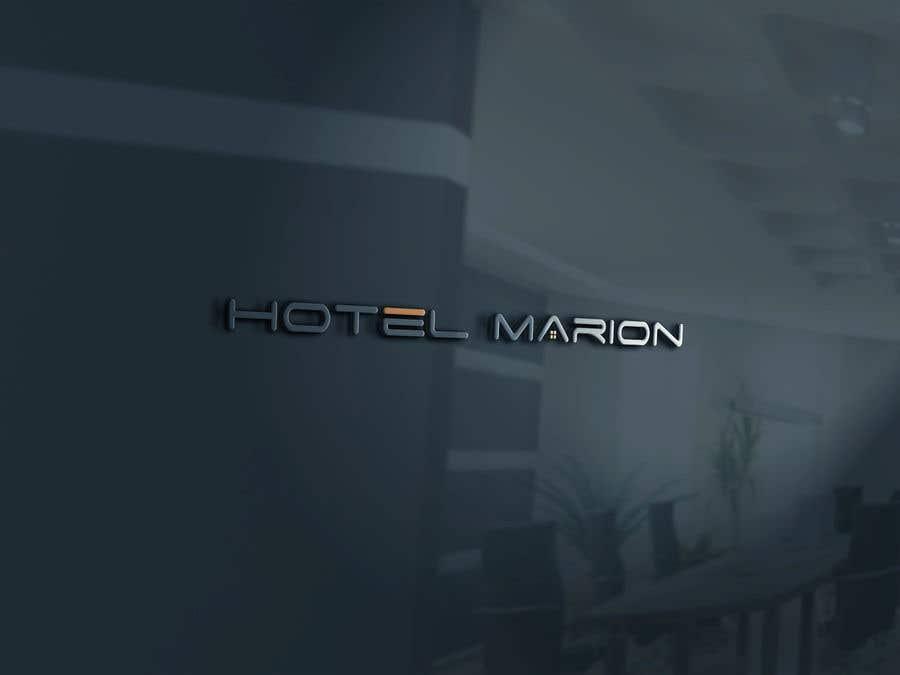 Kilpailutyö #345 kilpailussa Modern logo for a boutique hotel. Named Hotel Marion