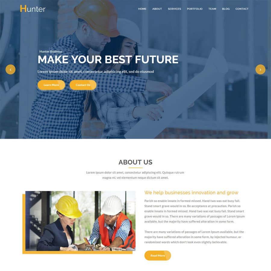 Kilpailutyö #7 kilpailussa Build me a website