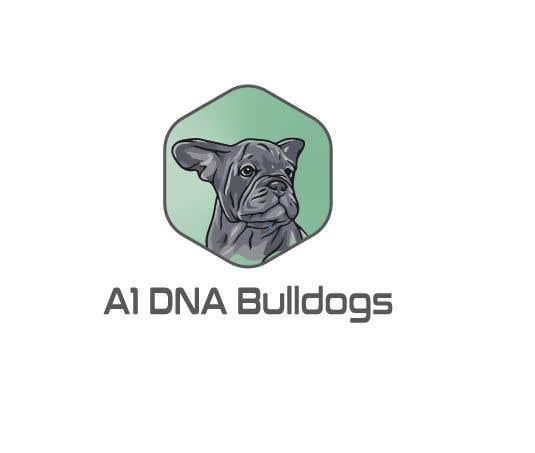 Kilpailutyö #14 kilpailussa Logo for French and English bulldog breeder