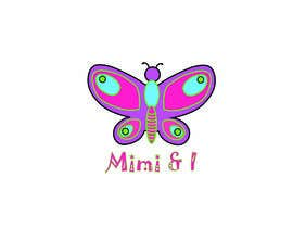 """#60 for Logo for Children's clothing brand.  It is called """"Mimi & I"""" I'd like it to be a fancy/pretty logo af sawhneynirmal00"""