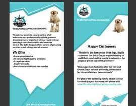 #81 για Design a Flyer for dog grooming business από PixelDesign24