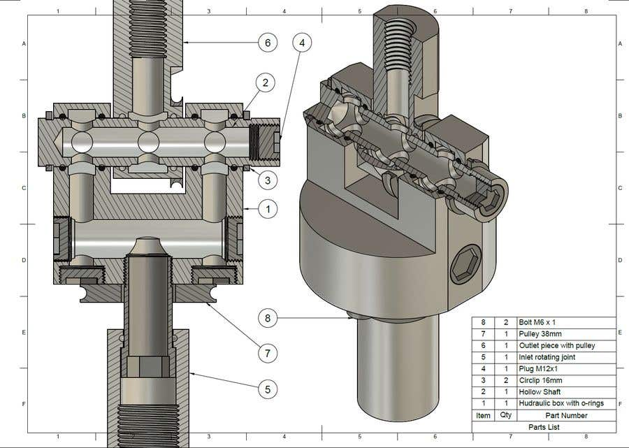 Contest Entry #12 for 2-Axis cable-activated leak free pipe joint in Solidworks