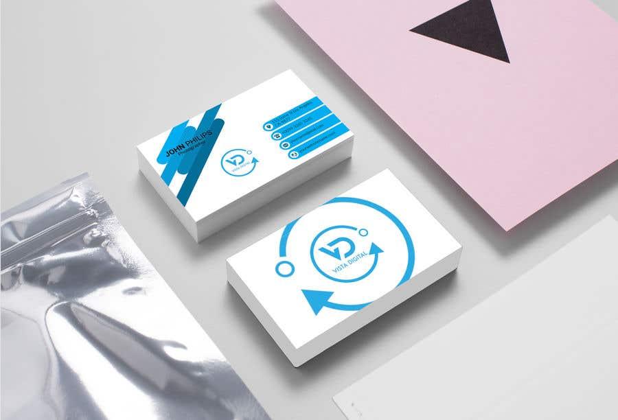 Contest Entry #65 for Design business cards for VistaDigital - Virtual tour specialists