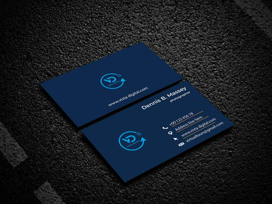 Contest Entry #135 for Design business cards for VistaDigital - Virtual tour specialists