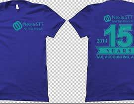 Nro 25 kilpailuun Design T-shirt both side käyttäjältä voltes098