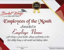 #13 for Employee of the month by FarooqGraphics