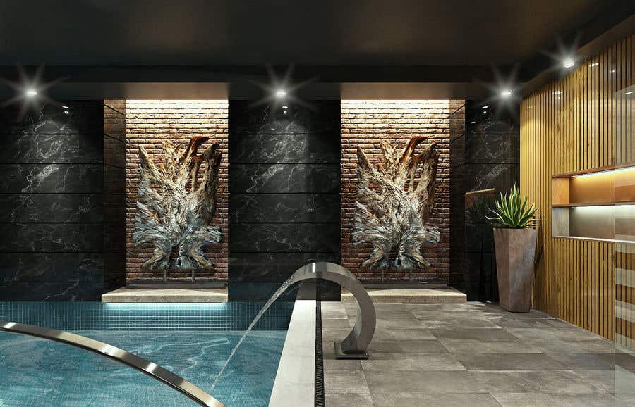 Конкурсная заявка №40 для 3D rendering for a Hotel's SPA