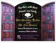 Graphic Design Contest Entry #18 for Design Wedding Invitation-Need Graphic Design Artist's Touch