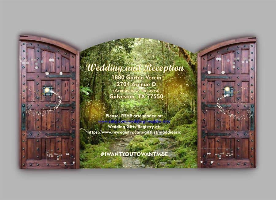 Contest Entry #20 for Design Wedding Invitation-Need Graphic Design Artist's Touch