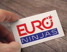 #300 for Design Euro Ninjas Logo by Shuvomonisha