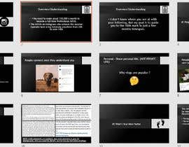 #29 para Powerpoint Presentation for Artist using Instagram for growth por yassinemouhli98