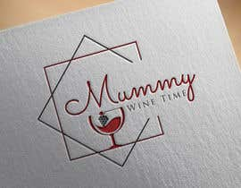 #35 untuk Change shape to a wine glass. Font must be elegant and sexy. This logo is representing the strength of women oleh shahadatmizi