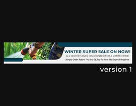 #64 for Winter Sale Banner Required For Website. by GoranK25