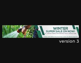 #66 for Winter Sale Banner Required For Website. by GoranK25