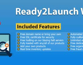 #37 for Create a 1600 pixel wide banner created to promote our Ready2Launch Websites by rakibullahfahad