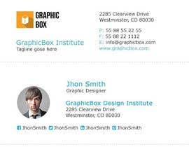 #55 for create modern email signature by zahidhcold