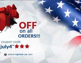 #149 for 4th Of july banner by PixelDesign24