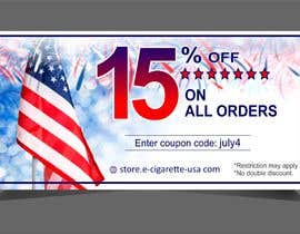 #161 for 4th Of july banner by sonugraphics01