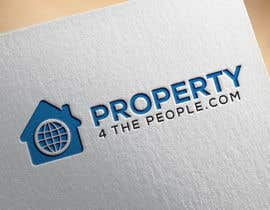 SKHUZAIFA tarafından Logo for website property for the people spelled www.property4thepeople.com için no 93