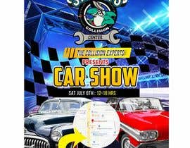 #17 para Design a poster and flyer for a Car Show por maidang34