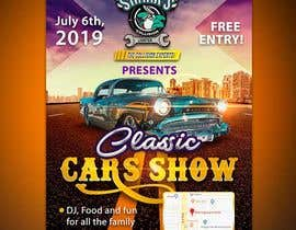 #34 para Design a poster and flyer for a Car Show por lunaticscreative