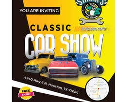 #9 para Design a poster and flyer for a Car Show por saifsg420