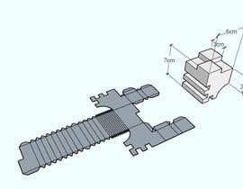 #7 for Papercraft/ Diseño de plantilla af kiekoomonster