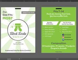 nº 6 pour Design a Hang Tag For Socks par akashsahaoo7