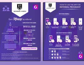 #4 for 2 pages A5 size Referral Program Flyer by saurov2012urov