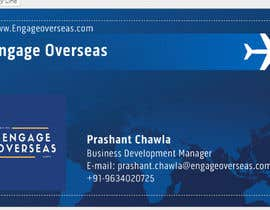 #7 for ENGAGE OVERSEAS (LOGO DESIGN) by iltijahussain77
