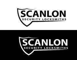 alomgirbd001 tarafından Design a logo for my company 'Scanlon Security Locksmiths' için no 130