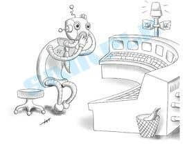#10 untuk Robot scratching his head oleh kevingitau
