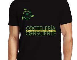 Dineshaps tarafından T-Shirt Design For Non-Profit @CocteleriaConsciente için no 43