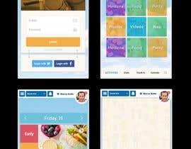 #23 cho Daycare Mobile App Design (only some screens) bởi NicoDuv