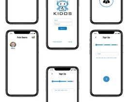 #24 cho Daycare Mobile App Design (only some screens) bởi vinukn335