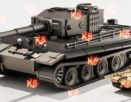 #41 для Render 3D tank files into metal texture от azeemkiyani786
