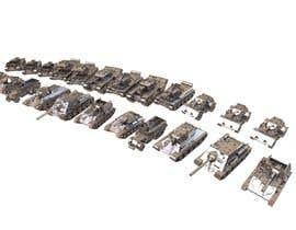 #31 для Render 3D tank files into metal texture от DarVa3d