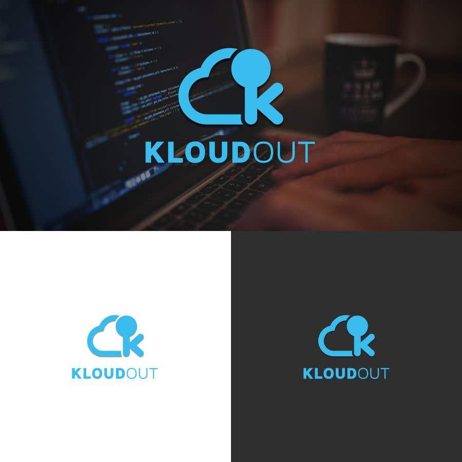 Bài tham dự cuộc thi #207 cho kloudout logo