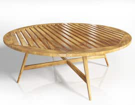#11 for Design and 3D Render a lounge table by parthamikh