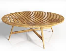 nº 11 pour Design and 3D Render a lounge table par parthamikh