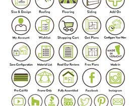 #47 for Custom Icon Set for Website by engrnasim