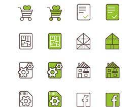 #18 for Custom Icon Set for Website by imperartor