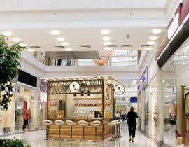 #12 untuk Design and render a small food space for a mall. oleh KikoriaArchitect