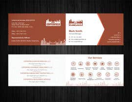 #101 for Design Creative & Trendy One Fold Business Card by Uttamkumar01