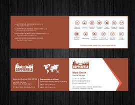 #116 for Design Creative & Trendy One Fold Business Card by Uttamkumar01