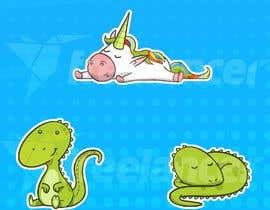 mayank94214 tarafından Graphics - Cartoon Creatures for Children için no 15