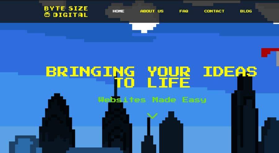 Bài tham dự cuộc thi #11 cho Byte Size HomePage
