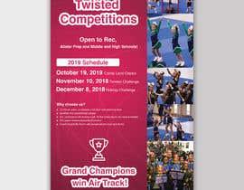#58 for Cheerleading Event Flyer '19 af mdfaruqhossen