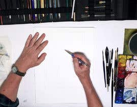#22 для 2 PHOTOSHOP image of person painting in book от focusbilal